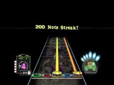 Guitar Hero 3 Custom, Black Sabbath, Iron Man (GH1)