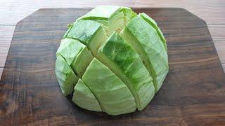 양배추는 이렇게 드세요, 게으른 당신을 위한 간단한 다이어트 레시피입니다 Cabbage