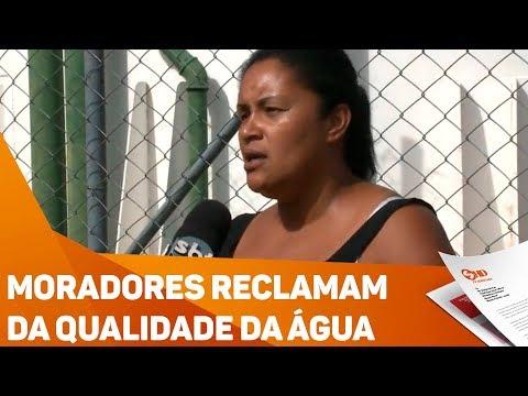 Moradores reclamam da qualidade da água - TV SOROCABA/SBT