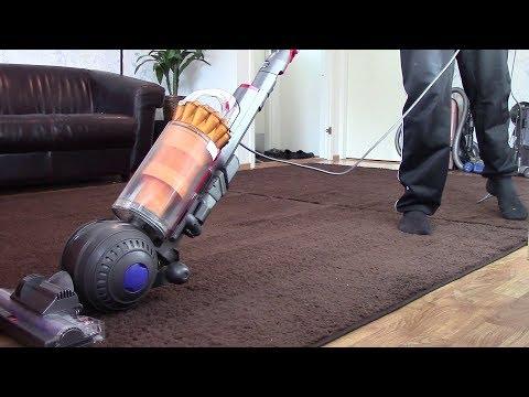 One Rug Very Thorough Vacuuming: Dyson DC40 MKII