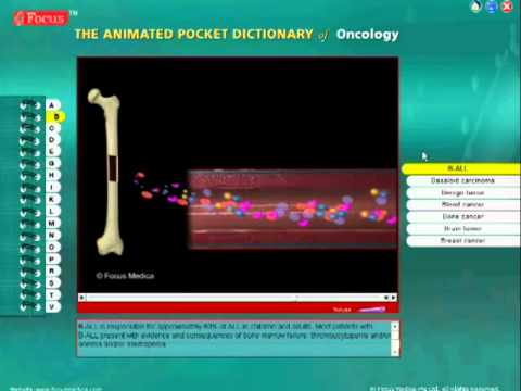 Oncology:Animated Pocket Dictionary