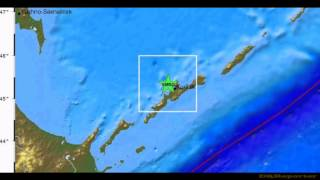 M 5.7 EARTHQUAKE - KURIL ISLANDS 03/12/12