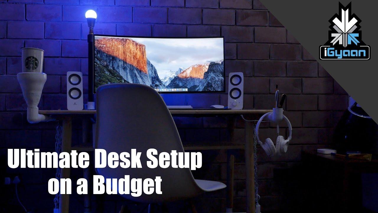 Download Ultimate Desk Setup. Build on a Budget : Rs. 20000 / $300