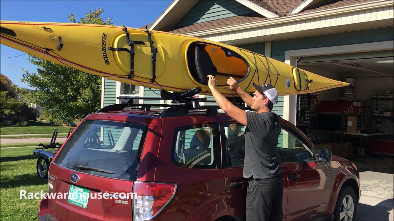 rhino rack s512 folding j style kayak carrier rack and paddle carrier
