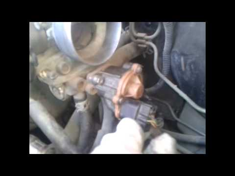 1996 Mitsubishi Colt motor 4g15 twin cam IDLE AIR CONTROL VALVE CLEANING__تنظيف حساس الايدل