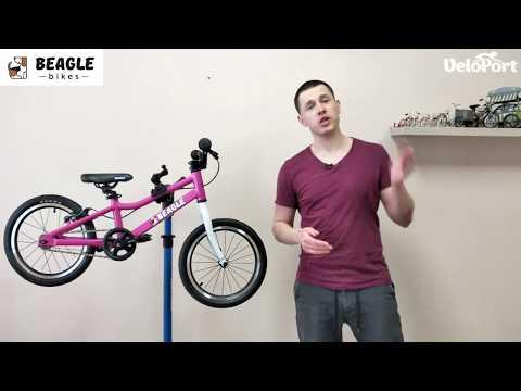 Легкий детский велосипед Beagle 116 в Velo-Port.ru