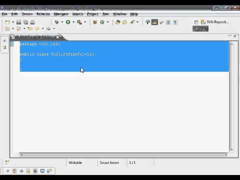 Java Web Programming with Eclipse: Wiki Application, Publish Page