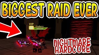 THE BIGGEST UNDERWORLD DUNGEON QUEST RAID EVER!! (Roblox)