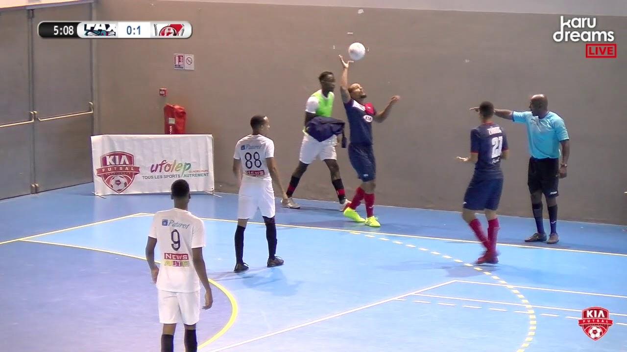 Demi-finale Retour Kia Futsal Guadeloupe : Fax vs Newteam