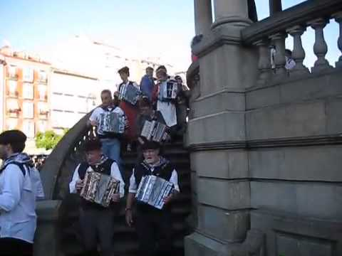 Music in Pamplona, Spain