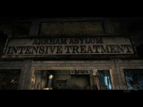 Batman: Arkham Asylum Rocksteady Studio Tour