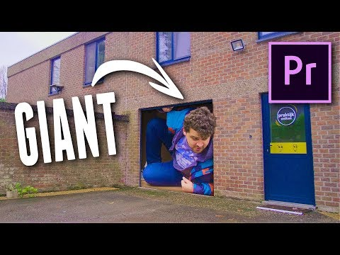 Editing Magic: Make Yourself GIANT with Premiere Pro