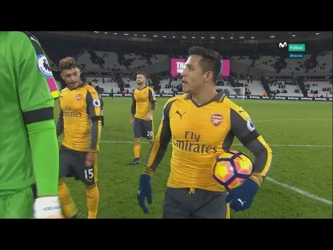 ALEXIS SANCHEZ vs West Ham (AWAY) 16/17 | Individual highlights | HD 1080i