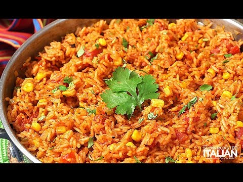 Cooking Restaurant Style Mexican Rice