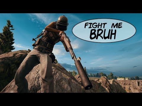 Challenging PUBG Players to Fist Fight For Level 3 Gear!