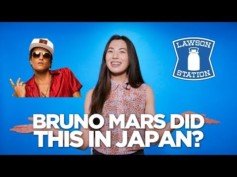 Bruno Mars Gets Angry At Japanese Model?