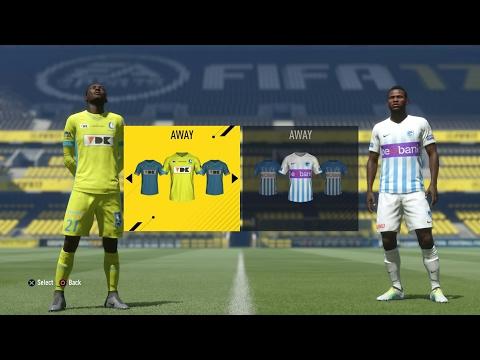 FIFA 17 Europe League: KAA Gent - Racing Genk