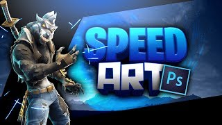 SPEED ART FORTNITE/ I make free banners[Zew]