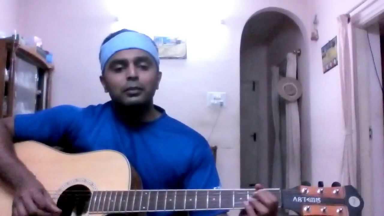 Pani da rang -Full song with Guitar chords and strumming pattern - YouTube
