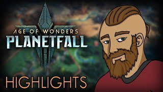 And Adventure in Age of Wonders: Planetfall! - (My Twitch Stream Highlights)