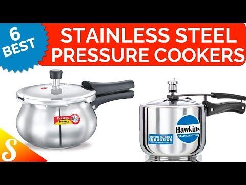 6 Best Stainless Steel Pressure Cookers in India with Price | Compatible for Induction too