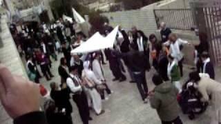 Еврейская свадьба в Иерусалиме.AVI