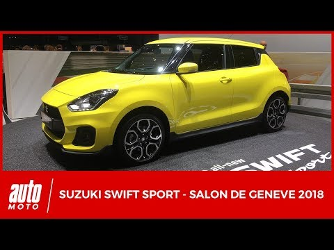 Salon de Genève 2018 - Suzuki Swift Sport turbo 140 ch