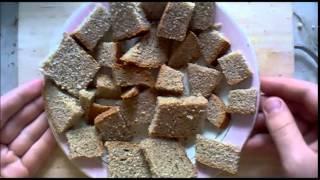 Как быстро приготовить сухари для кваса