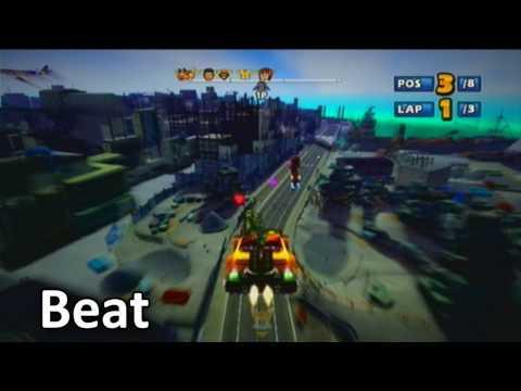 Sonic & SEGA All-Stars Racing - All 22 Characters | Gameplay