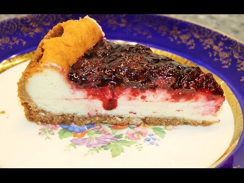 Making A Blackberry (or any berry) Cheesecake Using The Pioneer Woman Recipe