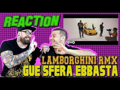 Guè Pequeno - Lamborghini (RMX) ft. Sfera Ebbasta | RAP REACTION 2017 | ARCADE BOYZ