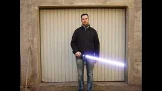 Fabrication Sabre laser StarWars