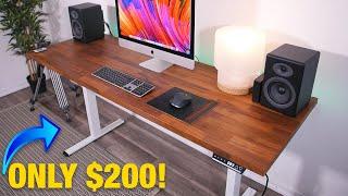 The Cheapest Motorized DIY Standing Desk On Amazon