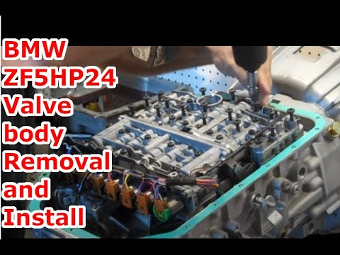 bmw zf5hp24 valve body installation ipt transmissions. Black Bedroom Furniture Sets. Home Design Ideas