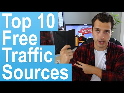Top 10 Free Website Traffic Sources for Affiliate Marketers