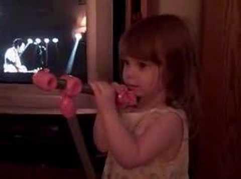 Emily Singing Toto