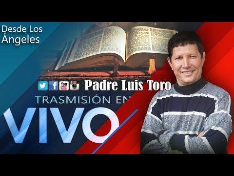 HISTORIA DEL Padre Luis Toro  - Entrevista en RADIO Juan Diego || Desde Los Ángeles