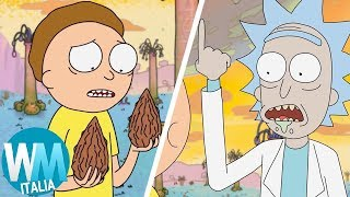 Top 10 PEGGIORI COSE successe a MORTY in RICK AND MORTY!