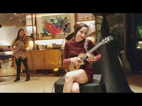 Taimane and friends play Stairway to Heaven at Hyatt Regency Centric Honolulu Mar 14 2018
