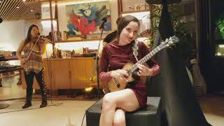 Taimane and friends play a medley of favorites at Hyatt Rege...