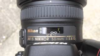 Nikon 50mm F1.8g Review