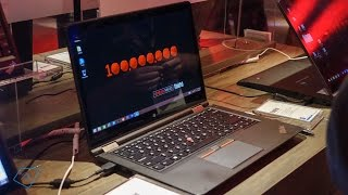 Hands-On: Lenovo ThinkPad Yoga 12,14,15 @CES2015