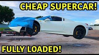 Rebuilding A Wrecked Ferrari 458 Spider