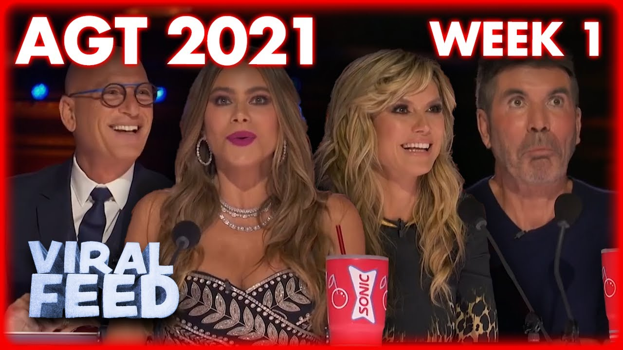 AMERICA'S GOT TALENT 2021 BEST AUDITION'S FROM WEEK 1 | VIRAL FEED