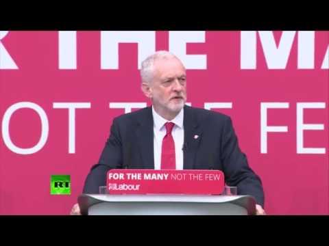 Corbyn launches Labour's #GE2017 manifesto FULL