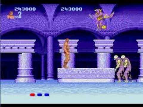 Altered Beast - Completo - Mega Drive - Genesis