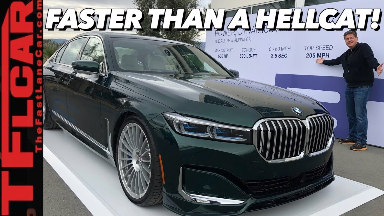2020 Bmw Alpina B7 Meet The World S Fastest Sedan Youtube