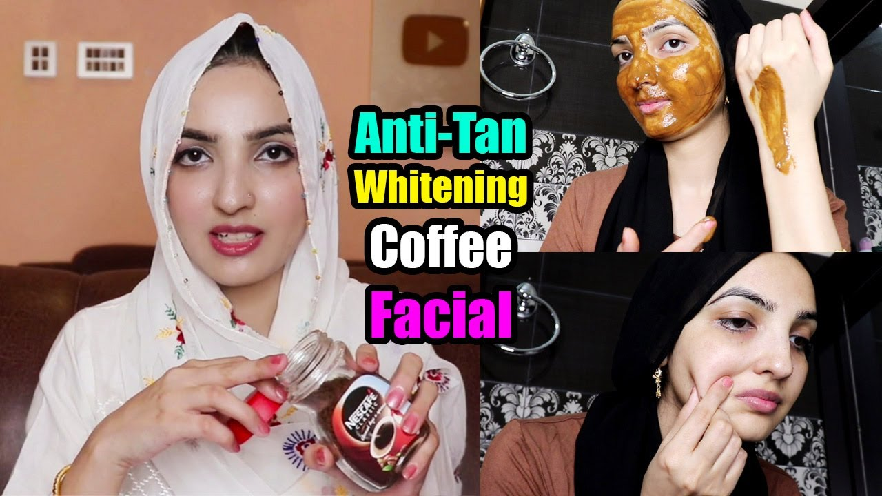 Download Super Easy Whitening Anti-Tan Coffee Facial at Home