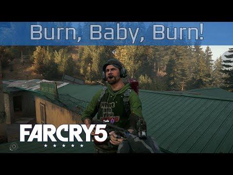 Far Cry 5 - Burn, Baby, Burn! Walkthrough [HD 1080P]