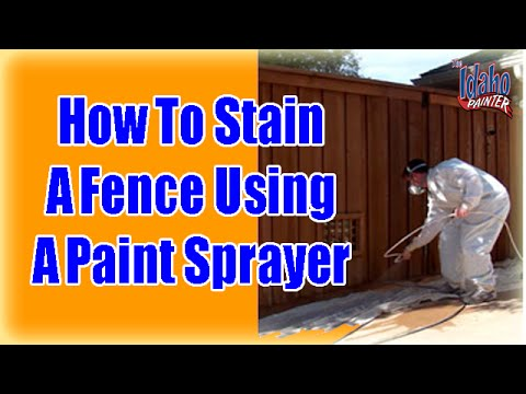 how-to-stain-or-paint-a-wood-fence.-staining-a-fence-with-a-airless-paint-sprayer.